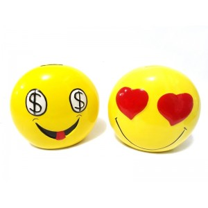 Toptan Sarı Emoji Kumbara
