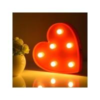 Toptan Sevgiliye Hediye Kalp Lamba