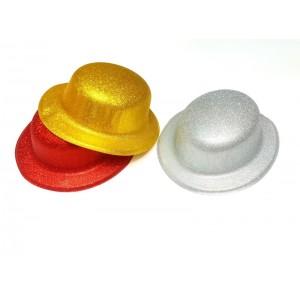 Toptan Simli Yılbaşı Şapkası