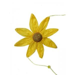 Toptan Süsleme Malzemeleri Renkli Papatya Çiçeği