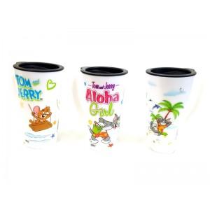 Toptan Tom ve Jerry Kapaklı Kupa Bardak