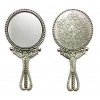 Toptan Ucuz Promosyon El Aynası Gümüş Renk