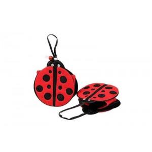 Toptan Uğur Böceği Kırmızı Çanta