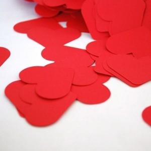 Toptan Yazısız 365 Gün Aşk Mesajı Kalp Şekilli Kağıt