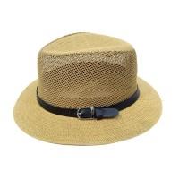 Toptan Yazlık Erkek Kovboy Fileli Panoma Şapka Çeşitleri 3J