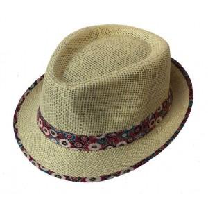 Toptan Yazlık Hasır Fötr Şapka Bay Bayan