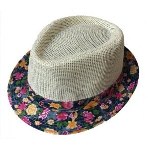 Toptan Yazlık Kadın Erkek Fötr Şapka Modelleri