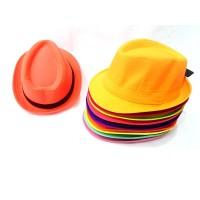 Toptan Yazlık Kumaş Fötr Çocuk Şapkaları