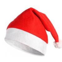 Toptan Yılbaşı Şapkası Keçe Noel Baba Şapkası